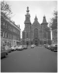 12092 De Noorderkerk in de Jacob Catsstraat in het Oude Noorden, gezien vanuit de Erasmusstraat..