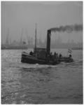 12096 Sleepboot de Volharding I (oorspronkelijke Harmonie 6) op de Nieuwe Maas.