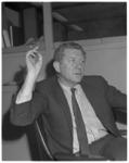 12179 Portret Herman Wigbold, hoofdredacteur van Het Vrije Volk.