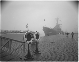 12217 Vlootbezoek NATO-smaldeel met o.a.fregat HMS Lowestoft en Noorse marineschip Stanovforlant.
