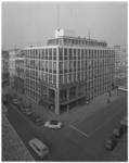 12690-2 Kantoor van de dagbladen Trouw en de Rotterdammer, hoek Hartmansstraat, Witte de Withstraat.