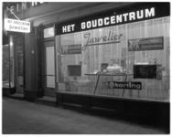 12799 Het Goudcentrum, juwelier aan Mathenesserplein 27 met moederdagacties.
