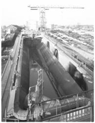 13214 Baggerschip Meerval op scheepswerf Lanser in Sliedrecht gebouwd voor Boskalis.