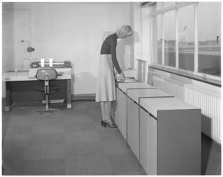 13635 Computerruimte HBU (Hollandse Bank Unie).
