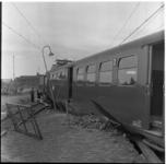 14 Ontspoorde personentrein bij Berkel-Rodenrijs.