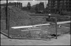 1579-1 Bouw schuilkelder voor de BB op de kop van de Mijnsherenlaan bij het Zuidplein