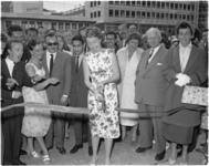 1580-1 Opening jazzclub De Molenwiek, de nieuwe thuisbasis van het Miller-sextet van Ab de Molenaar aan de Westblaak, ...
