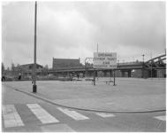 1779-4 Plek voor de nieuwe centrummarkt aan de Binnenrotte langs het spoorviaduct.