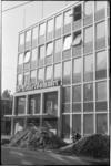 1784-2 Nieuw kantoorgebouw van dagblad De Rotterdammer hoek Hartmansstraat en Witte de Withstraat