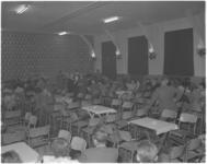 179 De vernieuwde zaal van verenigingsgebouw Sarto aan het Afrikaanderplein.