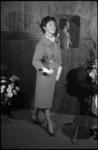 1956-1 Model voor de modeshow Cargelli.