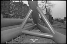 1997-1 De mast van Huisman op de Feijenoordkade ten noordwesten van de Dillenburgstraat.