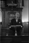20018-12-18 Ir. J. A. C. Tillema, de hoofddirecteur van de Dienst Gemeentewerken, houdt een toespraak in de ...