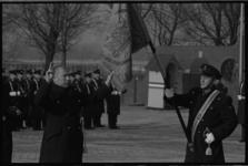 20019-100-25 Beëdiging mariniers op het plein voor de Van Ghentkazerne.