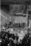 20020-58 Ter ere van het 8e lustrum van de Rotterdamse HTS-bond geeft Euro Philharmonicum een concert in het aanbouw ...