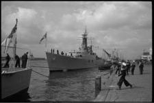 20022-24c De fregatten H.M.S. Verulam en H.M.S. Undaunted en de onderzeeboten H.M.S. Onslaught en H.M.S. Alaric van de ...