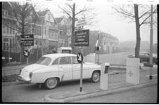 20032-52-43 Parkomatic, een parkeersysteem op proef van NS voor dagparkeerders en abonnementhouders bij achterzijde ...