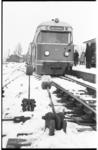 20034-73-44 Laatste rit RTM-tram naar Hellevoetsluis, hier op station Spijkenisse.