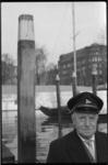 2022 Vermoedelijk de havenmeester van de Veerhaven- het Westplein op de achtergrond.