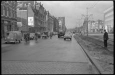 2044-1 Schiekade, tussen Proveniersstraat en Molenwaterweg- stenen wegdek is gedeeltelijk vervangen door asfalt.