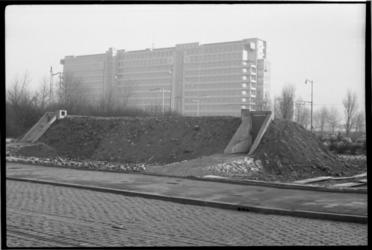 2045-1 Exterieur van een Bescherming Bevolking-schuilkelder tegenover ziekenhuis Dijkzigt.