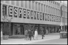 20455-7-35 Esperanto Kongresso in de Doelen.