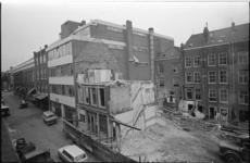 20721-3-16 Afbraak panden Boomgaardsstraat in de wijk Cool, naast het oude NRC-gebouw.