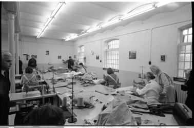 20949-3-14 Naaiatelier van de vrouwengevangenis op de Noordsingel na een face-lift.