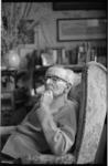 21273-4-5 Portret van dr. W. van Ravesteyn, socialistisch (en later communistisch politicus) en conservator van de ...