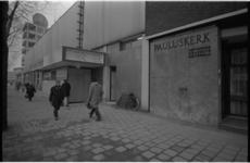 21302-5-1 Exterieur nieuwe bioscoop Calypso aan de Mauritsweg naast de Pauluskerk.
