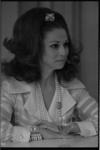 21326-5-7 De Italiaanse filmactrice Anna Maria Pierangeli geeft een persconferentie in het Atlanta Hotel. Zij is in ...