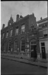 21403-3-26 Exterieur van jongerencentrum Ruimte's Situatie Centrum in voormalige school aan de Gaffeldwarsstraat in ...