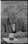 21407-6-17 Portret van ir. J.A.C. Tillema, de scheidende hoofddirecteur van de Dienst van Gemeentewerken.