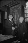21583-3-42 De installatie van Th.J C. Verduin als nieuwe gemeentesecretaris
