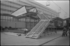 21982-1-4 Voetgangersbrug tussen Weena en Lijnbaan over de Havodam-maquette van C'70.