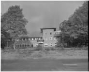 221-11 Exterieur van koloniehuis, de Heuvels in Nunspeet, voor Kinderen naar Buiten.