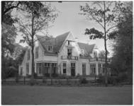 221-12 Totaalexterieur van koloniehuis Onze Woning in Nunspeet, voor Kinderen naar Buiten.