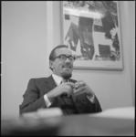 22276-1-10 Praatportret van prof. mr. H.Th.J.F. van Maarseveen; rechtsgeleerdheid.