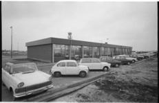 22441-6-4 Exterieur gebouw rijksdiensten op vliegveld Zestienhoven.