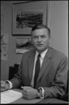 22753-1-17A Mr. J.G. Duchemin, hoofd van de secretarie-afdeling Sport en Recreatie van de Gemeente Rotterdam.