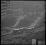 23074-3-6 De RET heeft in Ommoord de autobusbaan, die op termijn bestemd is voor de metro, in gebruik genomen.