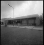 23571-2-3 Exterieur postkantoor Rozenburg aan de Molenweg.