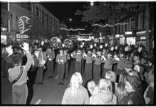 23778-6-21 Opening van de Noorderboulevard met medewerking van de Euroband en een drumband uit Hilversum.