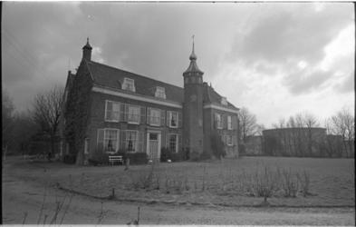 24067-7-1 Bezoek van deelgemeenteraad Charlois aan het landhuis De Oliphant in voormalig Nieuwesluis.