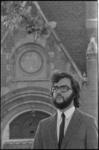 24455-1-10 Portret van organist Addie de Jong. Op 20-06-1973 wordt in de Oude Kerk aan de Aelbrechtsakolk/Voorhaven een ...