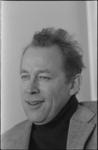 24579-2-7a Portret van Louk Hulsman, hoogleraar strafrecht aan de Erasmus Universiteit Rotterdam.