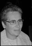 24965-3-39 Portret van A.M. Ridderhof-Strik, gemeenteraadslid voor de PvdA.