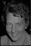 24965-7-13 Portret van mevr. R. van der Maesen, gemeenteraadslid.(CDA)