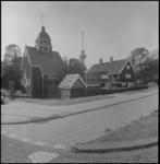 24990-4 Het Noorse zeemanskerkje in het Park naast Westzeedijk.