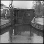25119-2-8 Het Boterdorpse Verlaat, een schutsluis tussen de Rotte en de Strekvaart bij de Bergse Plassen.